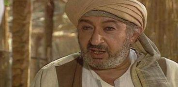 نور الشريف في مشهد من مسلسل عمر بن العاص