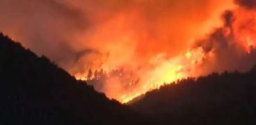 حرائق ضخمة تجتاح ولاية  كولورادو الأمريكية