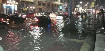أمطار في الأسكندرية