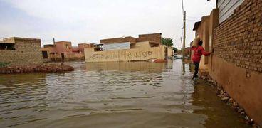 صورة من فيضانات السودان