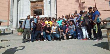 الوفد الأفريقى يزور المعالم السياحية