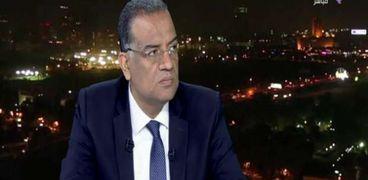 الكاتب الصحفي محمود مسلم رئيس تحرير جريدة الوطن وعضو مجلس الشيوخ