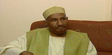 رئيس حزب الأمة القومي السوداني الصادق المهدي