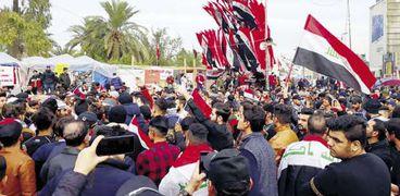 مظاهرات سابقة فى العراق