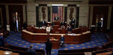 جلسة مجلس النواب الأمريكي للتصويت على عزل ترامب