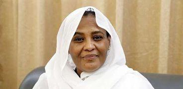 مريم الصادق المهدي، وزيرة الخارجية السودانية
