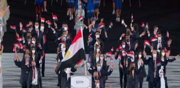 البعثة المصرية في الأولمبياد