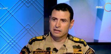 العقيد أبو بكر محمد عبدالخالق مقاتل بقوات الصاعقة المصرية