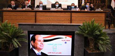محافظ الغربية يعقد اجتماعاً مع الجهات المشاركة في المبادرة الرئاسية