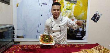 مطعم في غرفة «أحمد» ليتمكن من علاج أخيه