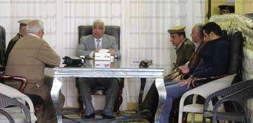 مدير امن كفر الشيخ يتفقد التامين بدسوق