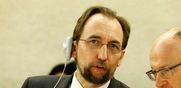 مفوض الأمم المتحدة السامي لحقوق الإنسان-زيد بن رعد-صورة أرشيفية