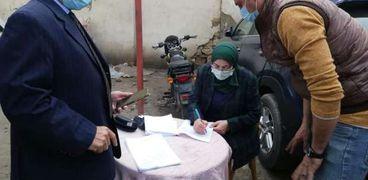 نائب محافظ القاهرة تتابع نقل السكان