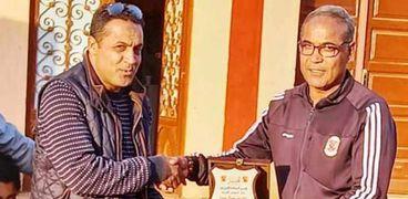 أكاديمية الأهلي بأسوان تكرم حمدان الصغير لتوليه تدريب منتخب 2003