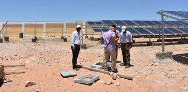 محطة تحلية المياه بالطاقة الشمسية بوحدة الدعم الفني بسيدي براني غرب مطروح