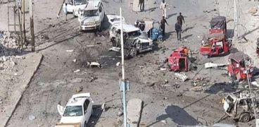 انفجار سابق فى الصومال