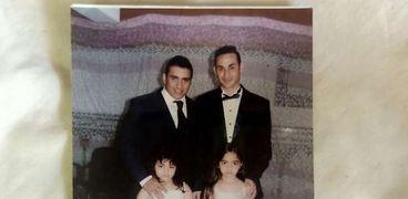 العقيد عمرو عبدالمنعم وشقيقه ماجد