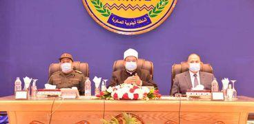 القوات المسلحة تنظم ندوة تثقيفية بالمنطقة الجنوبية بحضور وزير الأوقاف