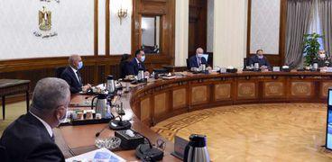 مجلس الوزراء برئاسة مدبولي