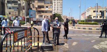 مدير أمن كفر الشيخ يتفقد قوات التأمين- أرشيفية
