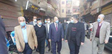 جولة سابقة لمحافظ القاهرة