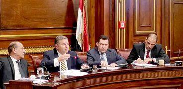 هشام توفيق أمام لجنة الصناعة بمجلس النواب