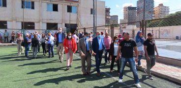 الاجتماع الأول للجنة التسيير الوطنية لمشروع بناء القدرات من خلال تطوير البنية التحتية في المناطق الحضرية