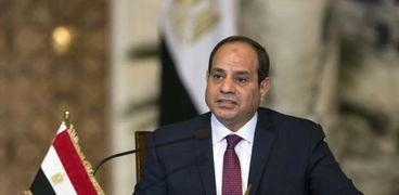 السيسي يوجه الشكر لموظفي محكمة جنوب القاهرة: ضبطوا قضية هامة
