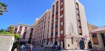 مستشفى مطروح العام بعد إنتهاء أعمال التطوير بها