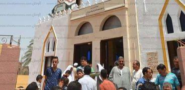 افتتاح مسجد بر الوالدين بالقصاصين استعدادا لرمضان.