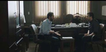كريم عبدالعزيز وأحمد حلمي في مسلسل الاختيار 2