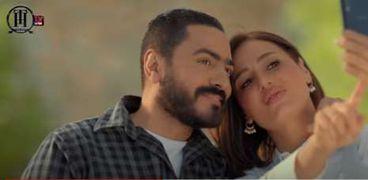 تامر حسني وحلا شيحة من فيلم «مش أنا»