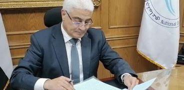جمال عوض رئيس هيئة التأمينات الاجتماعية