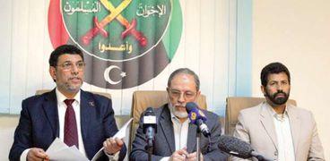 قيادة تنظيم الإخوان الإرهابي في ليبيا