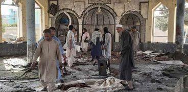 تفجير المسجد في قندهار