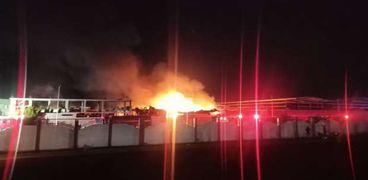 حريق مصنع الإسماعيلية