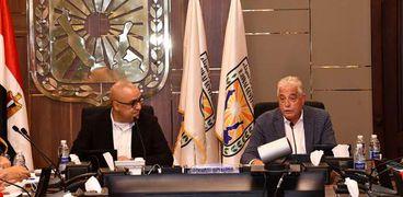 وزير الاسكان ومحافظ سيناء