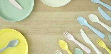 أسعار الأطباق والمعالق البلاستيك