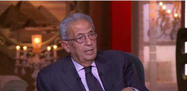 عمرو موسى الامين الأسبق لجامعة الدول العربية