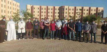 قيادات مديرية الصحة في بني سويف
