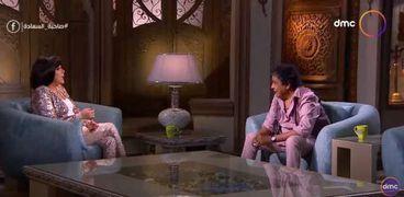 محمد منير مع إسعاد يونس