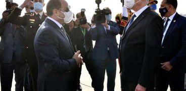 الرئيس التونسي والسيسي