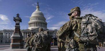 الحرس الوطني الأمريكي في مهمة حماية الكونجرس (أرشيفية)