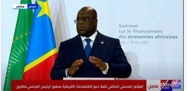 فليكس تشيسكيدي.. رئيس الكونغو الديمقراطية