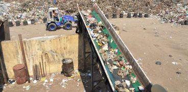 إعادة تدوير القمامة في مصنع أبو بلح في الإسماعيلية