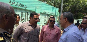 مدير امن كفر الشيخ يتفقد محيط مدارس الثانوية