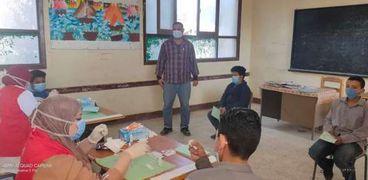 انطلاق المبادرة الرئاسية للكشف عن فيروس سي بمدارس بني سويف
