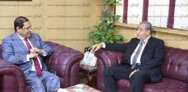 اليوم.. وزيرا التموين والتخطيط يفتتحان مؤتمر الاقتصاد بأكاديمية السادات