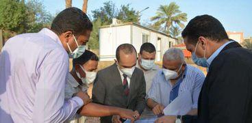 """نائب محافظ سوهاج يتفقد مشروعات تطوير الريف المصري """"حياة كريمة"""""""