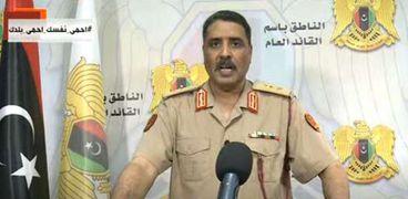 اللواء أحمد المسماري .. المتحدث باسم الجيش الوطني الليبي
